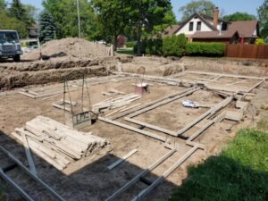 cement foundations